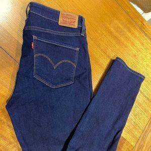 Levi Jeans -721 High rise skinny jean
